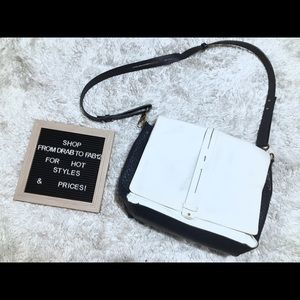 French connection leather crossbody